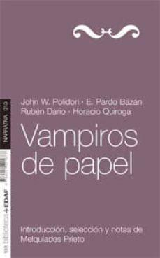 vampiros de papel (ebook)-john polidori-9788441421998