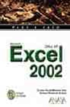 Relaismarechiaro.it Excel 2002 (Paso A Paso) (Incluye Cd-rom) Image