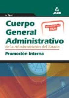 Titantitan.mx Cuerpo General Administrativo De La Administracion Del Estado Pro Mocion Interna: Test Image