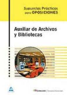 Cdaea.es Auxiliar De Archivos Y Bibliotecas. Supuestos Practicos Image