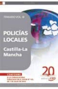 Alienazioneparentale.it Policias Locales De Castilla-la Mancha. Temario Vol. Iii Image