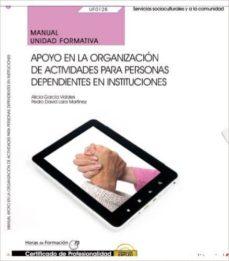 Vinisenzatrucco.it (Uf0128) Manual. Apoyo En La Organización De Actividades Para Personas Dependientes En Instituciones . Certificados De Image