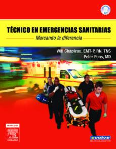 Libros de Amazon descargados a ipad TECNICO EN EMERGENCIAS SANITARIAS (DVD + EVOLVE) de W. CHAPLEAU, P.T. PONS (Spanish Edition) 9788480862998