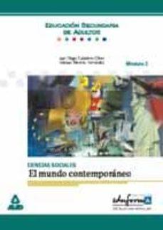 Permacultivo.es Ciencias Sociales: El Mundo Contemporaneo (Modulo 3) (Educacion S Ecundaria De Adultos) (Eduforma) Image