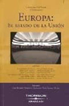 EUROPA: EL ESTADO DE LA UNION - SUSANA DEL RIO VILLAR   Triangledh.org