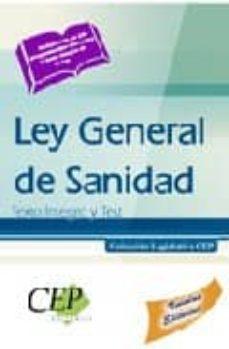 Valentifaineros20015.es Ley General De Sanidad. Texto Integro Y Test. Coleccion Legislati Va Cep Image