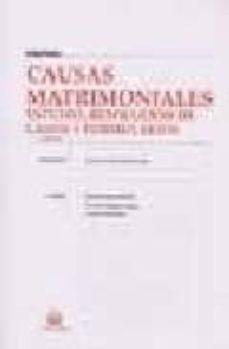 Permacultivo.es Causas Matrimoniales: Estudio, Resolucion De Casos Y Formularios (3ª Ed.) Image