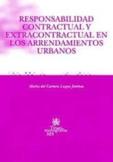 Lofficielhommes.es Responsabilidad Contractual Y Extracontratual En Los Arrendamient Os Urbanos Image