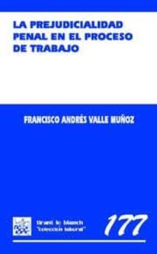 Bressoamisuradi.it La Prejudicialidad Penal En El Proceso Del Trabajo Image