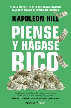 piense y hagase rico-napoleon hill-9788490325698