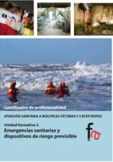 Descargar libros electrónicos gratuitos en pdf en inglés EMERGENCIAS SANITARIAS Y DISPOSITIVOS DE RIESGO PREVISIBLE de BEGOÑA MURILLO CRESPO en español  9788490510698