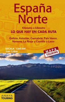 Mapa Carreteras España 2018.Mapa De Carreteras Espana Norte Desplegable Escala 1 340 000 2018 Mapa Touring 8ª Ed Vv Aa Comprar Libro 9788491580898