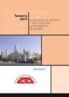 Viamistica.es Temario Para Ayudante/a De Archivos Y Bibliotecas Del Ayuntamient O De Madrid. Obra Completa. 2 Volúmenes Image