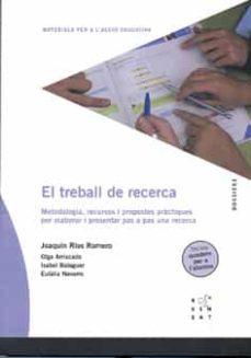 Bressoamisuradi.it El Treball De Recerca (Inclou Quadern De Treball) Image