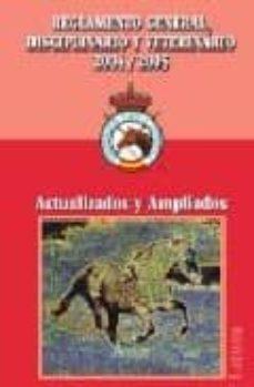 Carreracentenariometro.es Reglamento General, Disciplinario Y Veterinario 2004-2005: Actual Izados Y Ampliados Image