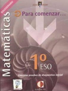 Chapultepecuno.mx Matemaricas. 1º Eso. Solucionario Image