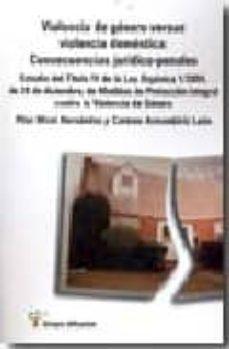 Chapultepecuno.mx Violencia De Genero Versus Violencia Domestica : Consecuencias Ju Ridico Penales Image