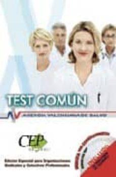 Viamistica.es Test Comun Oposiciones Agencia Valenciana Salud. Edicion Especial Image