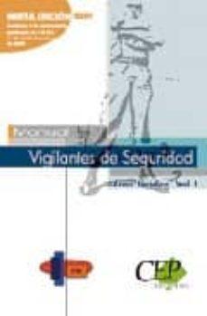 Encuentroelemadrid.es Manual Vigilantes De Seguridad: Area Juridica. Vol. I. Image