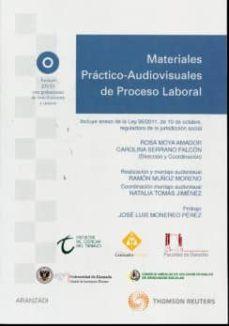 Cdaea.es Materiales Practico-audiovisuales De Proceso Laboral (Incluye Dvd ) Image