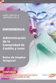 Geekmag.es Enfermero/a De La Administracion De Castilla Y Leon. Bolsa De Emp Leo Temporal. Parte Especifica Sanitariavol. Ii. Image