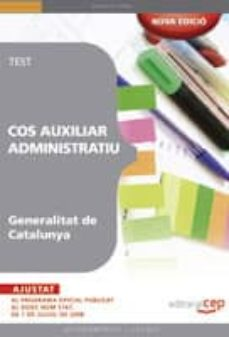 Geekmag.es Cos Auxiliar Administratiu Generalitat De Catalunya (Test) Image