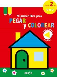 Geekmag.es Casita - Mi Primer Libro Para Pegar Y Colorear Image