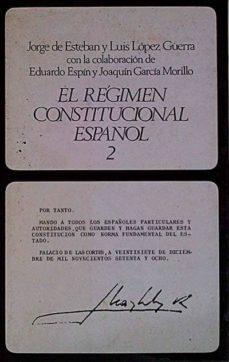 Bressoamisuradi.it El Régimen Constitucional Español 2 Image
