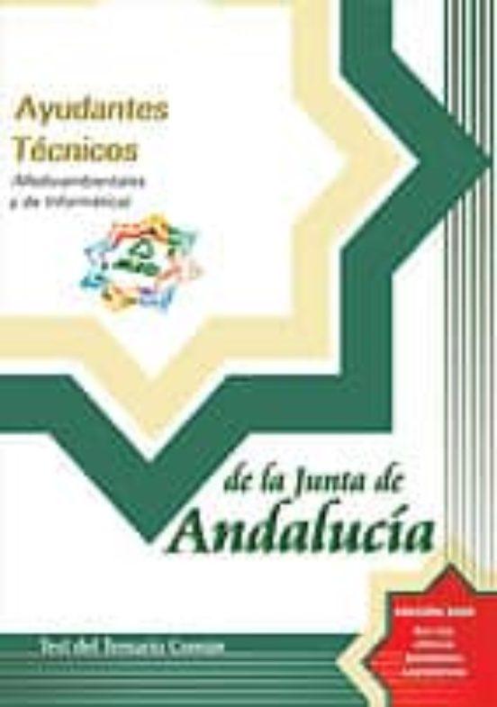 AYUDANTES TECNICOS DE LA JUNTA DE ANDALUCIA: TEST DEL TEMARIO COM UN