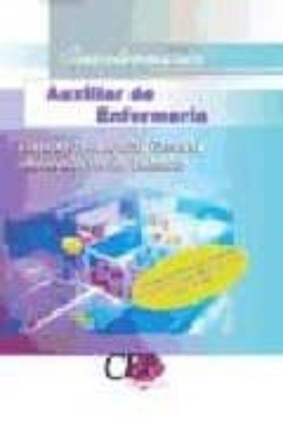 AUXILIAR DE ENFERMERIA: CONSORCIO HOSPITAL GENERAL UNIVERSITARIO DE VALENCIA: CUESTIONARIO