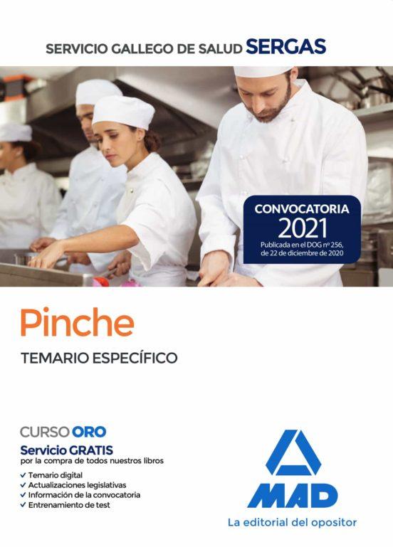 PINCHE DEL SERVICIO GALLEGO DE SALUD. TEMARIO ESPECIFICO