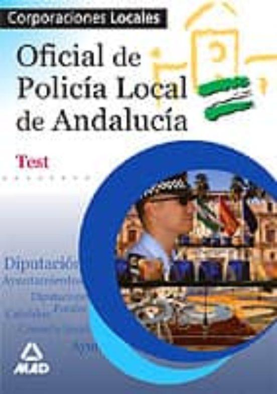 OFICIAL DE POLICIA LOCAL DE ANDALUCIA: TEST