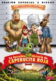la increible pero cierta historia de caperucita (dvd)-8420172046491