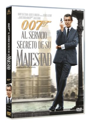 al servicio secreto de su majestad: ultimate edition 1 disco-8420266933690