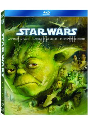 pack star wars: precuela de la trilogia (blu-ray)-8420266955791
