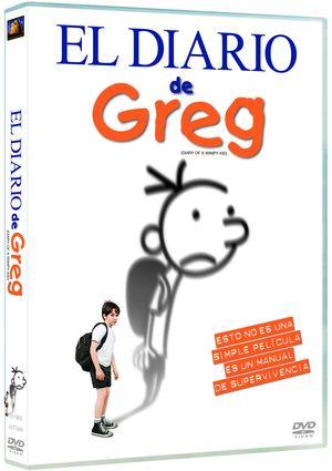 diario de greg (dvd)-8420266954909