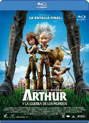 arthur y la guerra de los mundos (blu-ray)-8435153711992