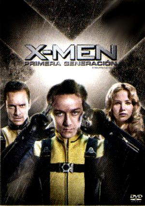 x-men: primera generacion (dvd)-8420266960467