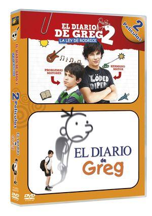 el diario de greg + el diario de greg 2: la ley de rodrick (duo)-8420266962379