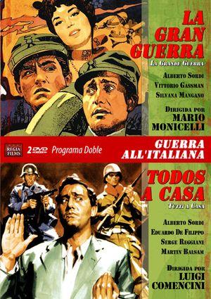 programa doble  guerra a la italiana (la gran guerra-todos a casa-8436037888564