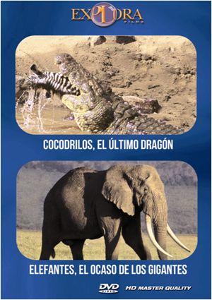 pack cocodrilos + elefantes (dvd)-8436533823144