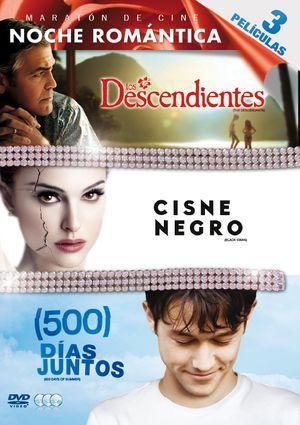 los descendientes + cisne negro + 500 dias juntos (dvd)-8420266963741