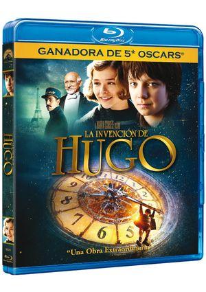 la invención de hugo (blu-ray)-8414906903792