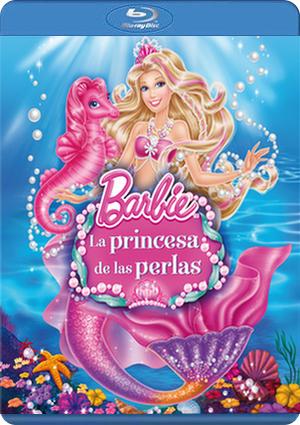 barbie: la princesa de las perlas (blu-ray)-8414906977137
