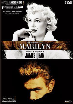 mi semana marilyn+james dean (dvd)-8435153744327