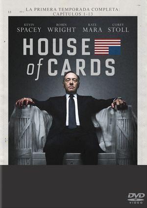 house of cards: temporada 1 (dvd)-8414533088244