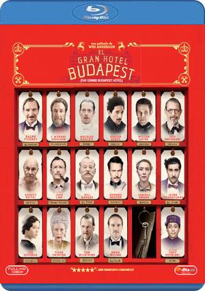 el gran hotel budapest (blu-ray)-8420266971326