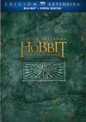 el hobbit: la desolación de smaug: ed.extendida (blu-ray)-5051893184945