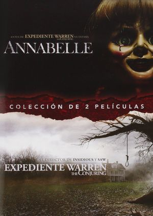 annabelle + the conjuring (dvd)-5051893217179