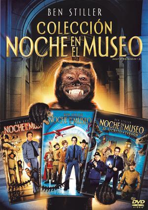 pack noche en el museo (dvd)-8420266973801